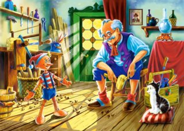 CASTORLAND Puzzle Pinokio 120 dílků