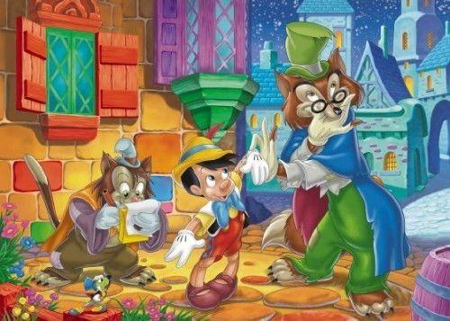 CLEMENTONI Puzzle Pinokio 104 dílků