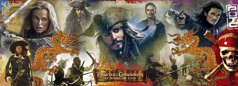Puzzle CLEMENTONI 1000 dílků - Piráti z Karibiku