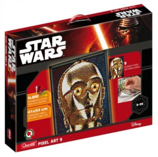 QUERCETTI Pixel Art Photo Star Wars: C-3PO 9 desek (11.600 ks)