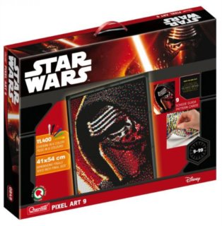 QUERCETTI Pixel Art Photo Star Wars: Kylo Ren 9 desek (11.400 ks)