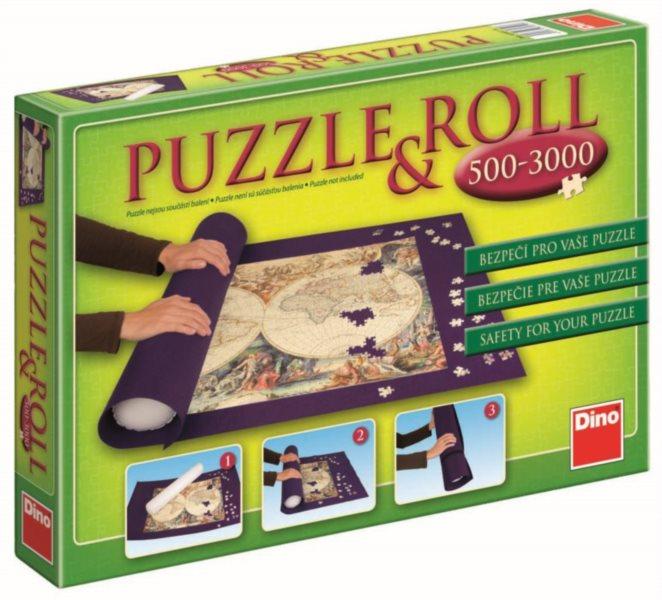 Podložka pod puzzle DINO rolovací na 3000 dílků (150x100cm)