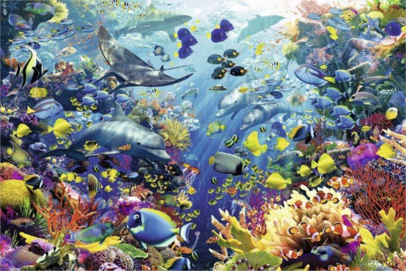 RAVENSBURGER 17067 - Podmořský ráj, puzzle 3000 dílků