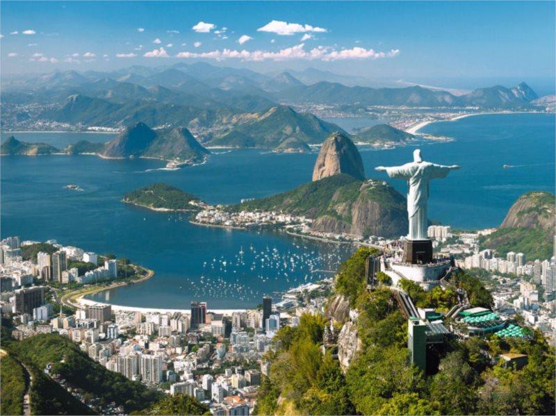 Puzzle RAVENSBURGER 1500 dílků - Pohled na Rio