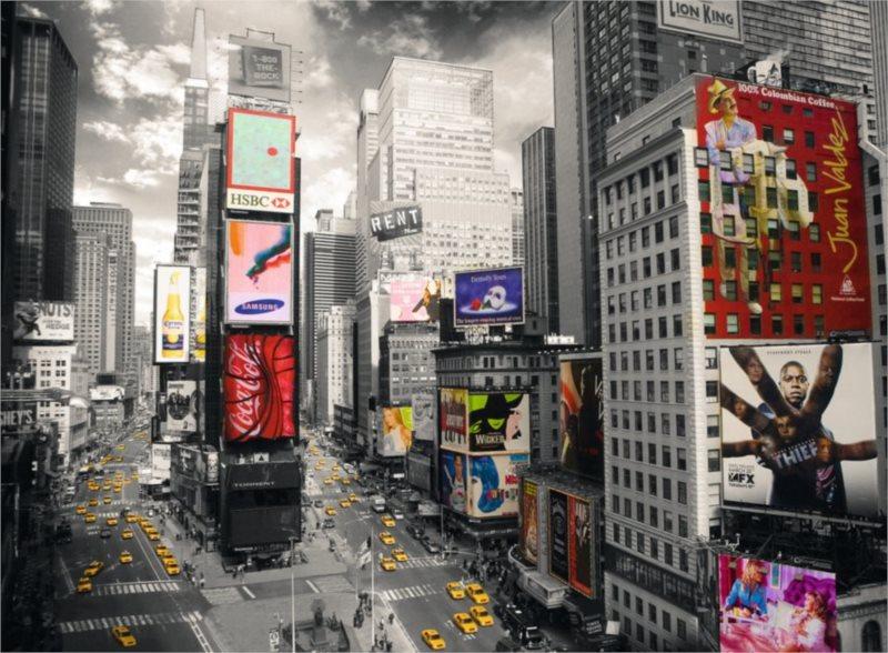 Puzzle RAVENSBURGER 500 dílků - Pohled na Times Square, NYC