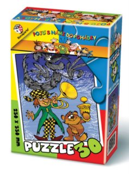BONAPARTE Puzzle Kubula a Kuba Kubikula 30 dílků