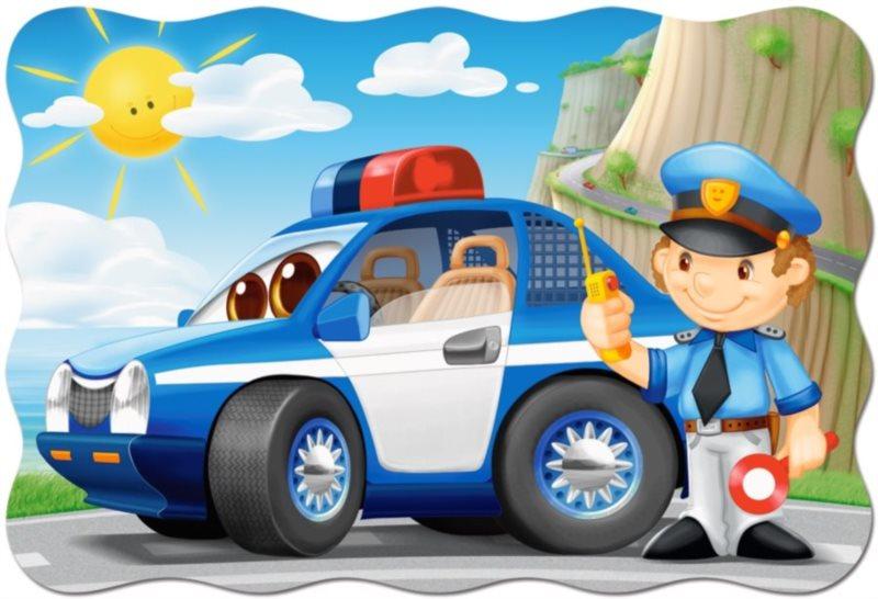 CASTORLAND Puzzle Policejní hlídka MAXI 20 dílků