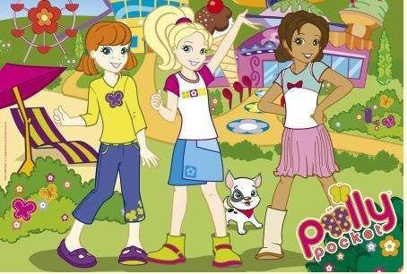 Puzzle pro děti TREFL 160 dílků - Polly Pocket