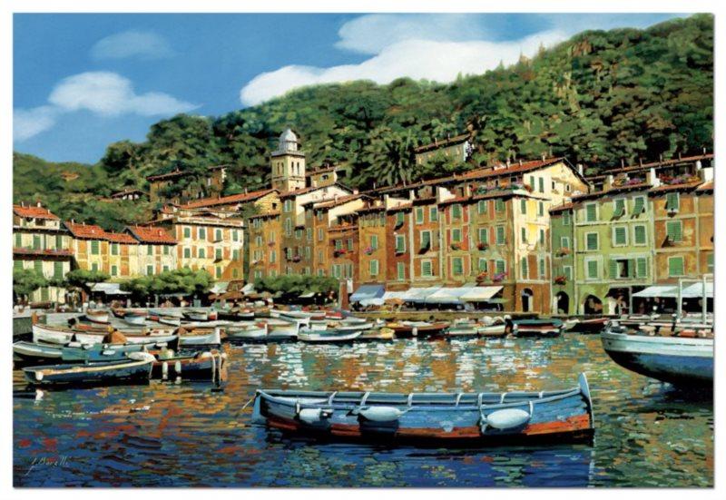 Puzzle EDUCA 4000 dílků - Portofino