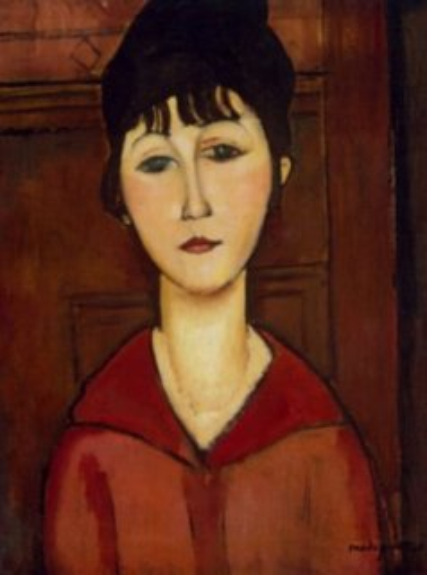Puzzle EDITIONS RICORDI 1000 dílků - Modigliani, Portrét mladé dívky