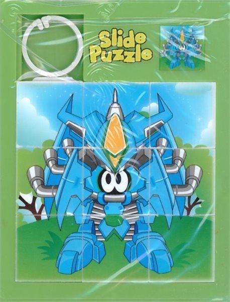 Posuvné puzzle Robot 3x3