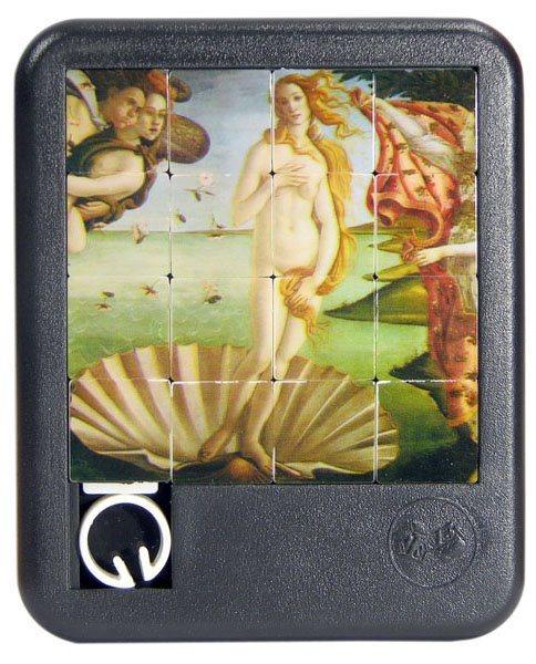 Posuvné puzzle Zrození Venuše 4x4