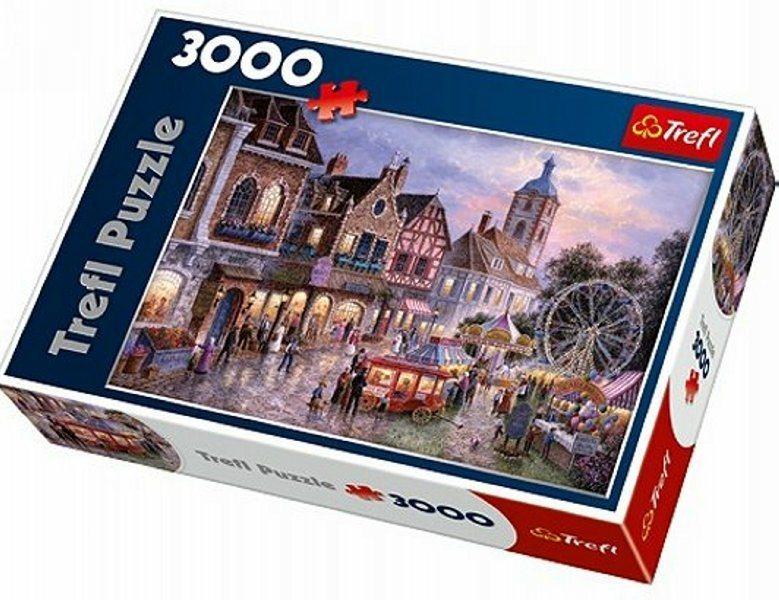 TREFL Puzzle Pouť 3000 dílků