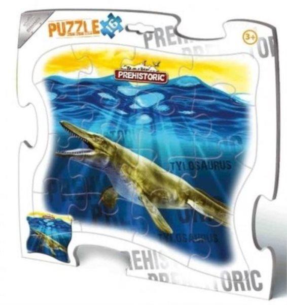 BONAPARTE Puzzle Prehistoric: Tylosaurus 16 dílků