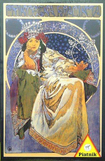 Puzzle PIATNIK 1000 dílků - Alfons Mucha, Princezna Hyacinta