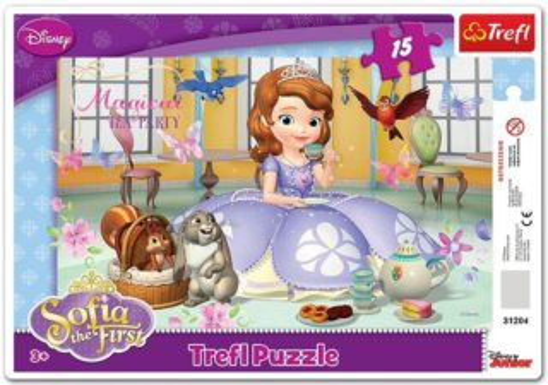 TREFL Puzzle Princezna Sofie První 15 dílků