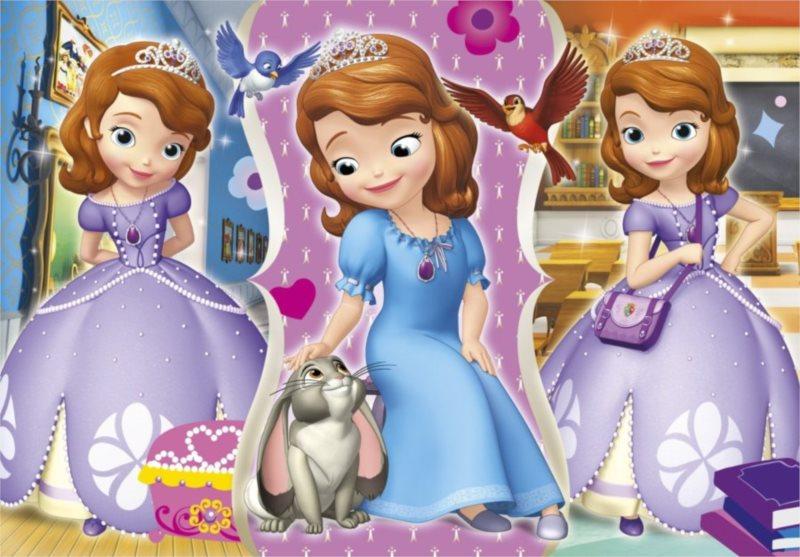 Dětské puzzle 60 dílků - Princezna Sofie První