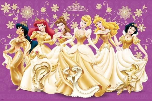 TREFL Puzzle Princezny MAXI 24 dílků