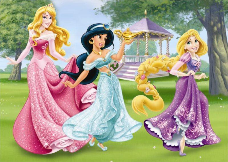 DINO Puzzle Princezny MAXI 24 dílků