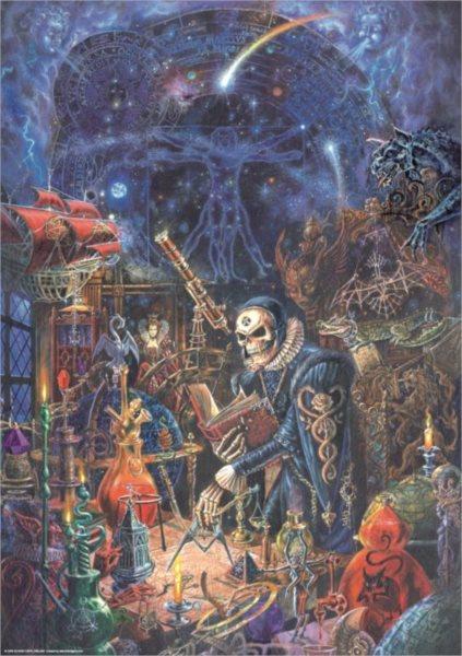 Puzzle HEYE 1000 dílků - Alchemy Gothic: Přírodní vědy