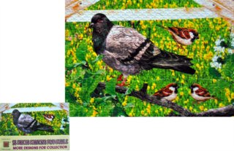 LC Pěnové puzzle Ptáci 24 dílků