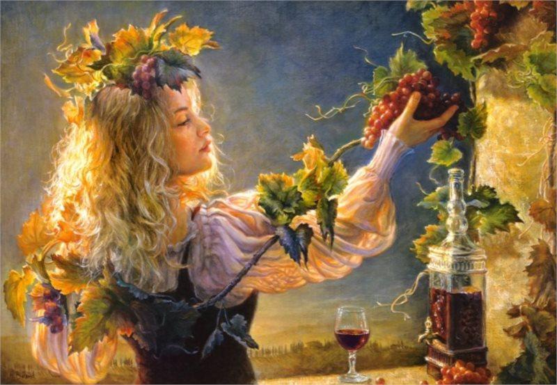 CASTORLAND Puzzle Půvab vína 1000 dílků