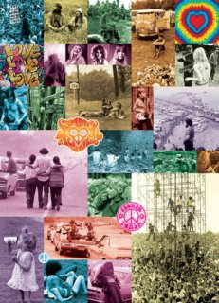 EUROGRAPHICS Puzzle Láska 60. léta 1000 dílků