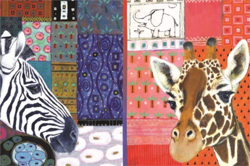 Puzzle JUMBO 18585 Africké umění 1500 dílků