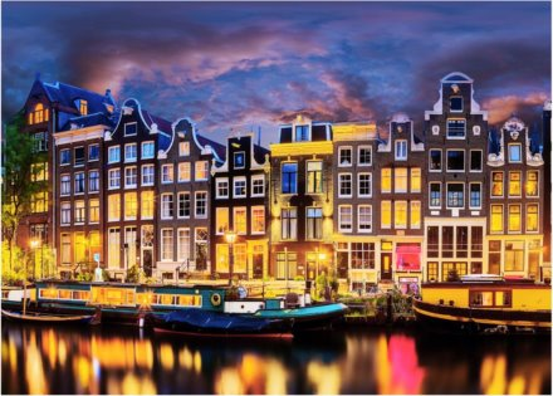 DINO Puzzle Amsterdam 3000 dílků