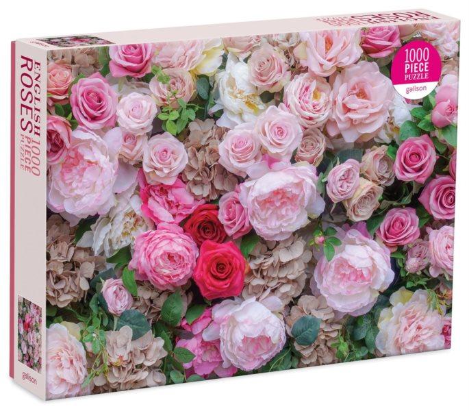GALISON Puzzle Anglické růže 1000 dílků