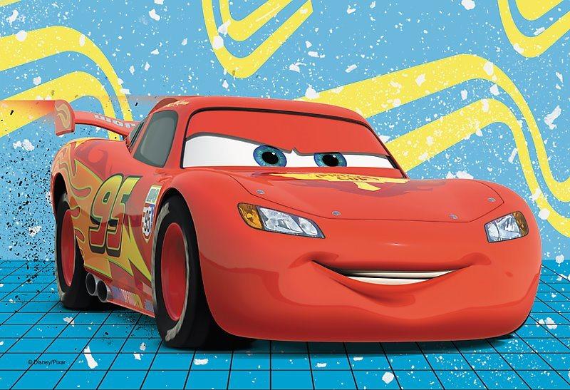TREFL Puzzle Auta: Blesk McQueen 54 dílků