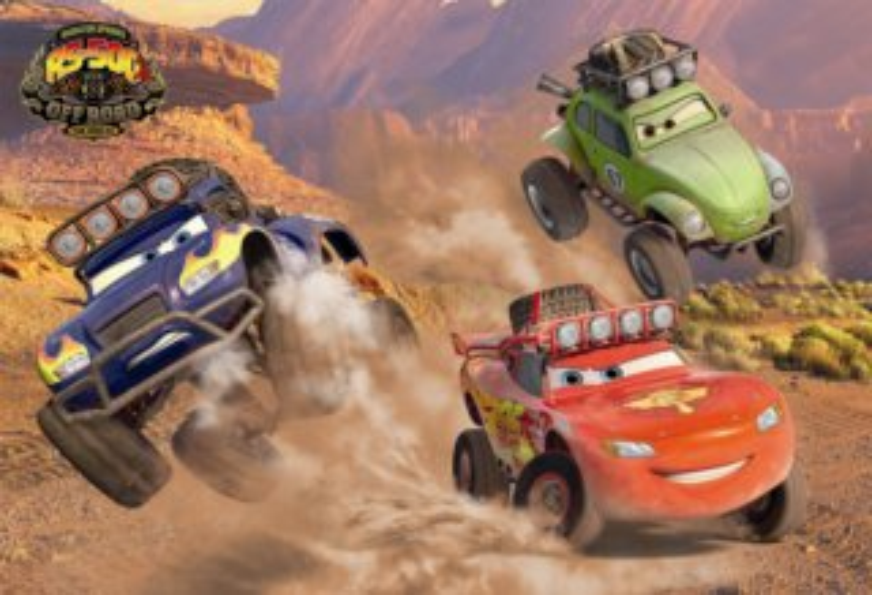 DINO Puzzle Auta: Závodníci 66 dílků