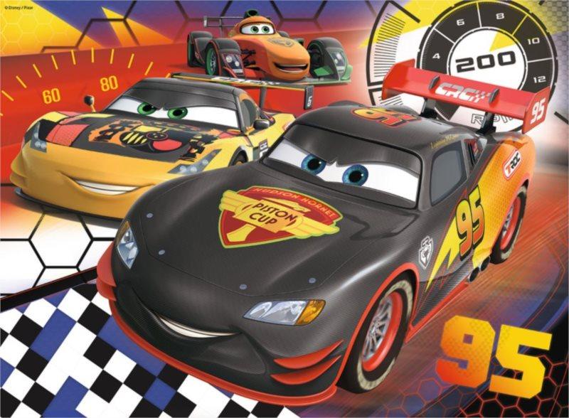 Dětské puzzle RAVENSBURGER 200 dílků - Auta: Na závodní dráze XXL