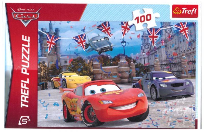 Puzzle pro děti TREFL 100 dílků - Auta: V Londýně