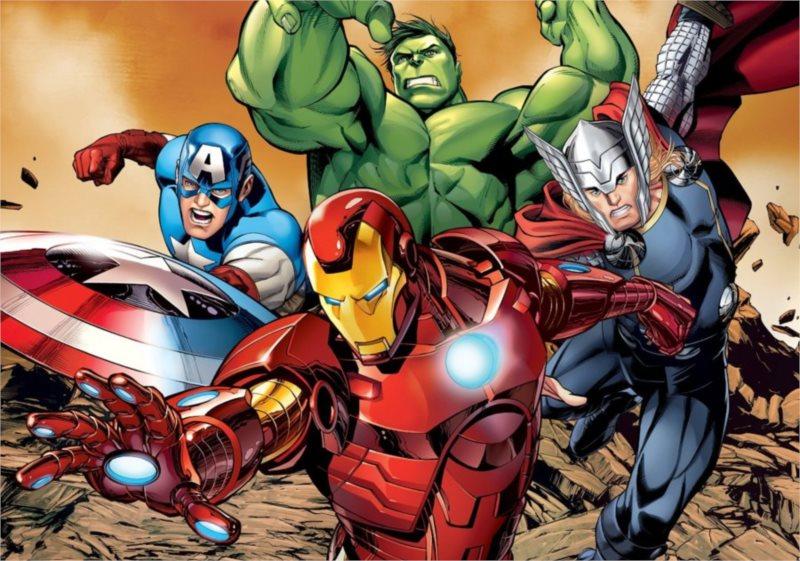 Dětské MAXI puzzle - Avengers 24 dílků
