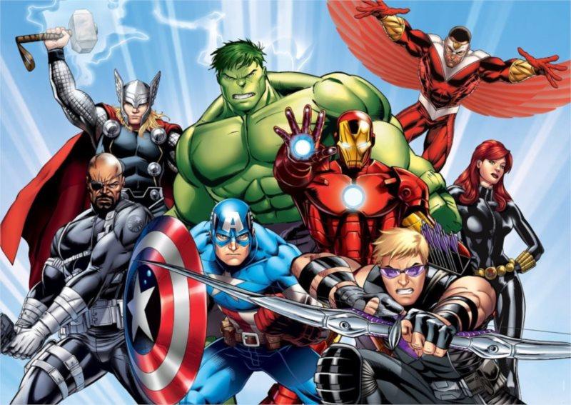 Dětské puzzle 60 dílků - Avengers