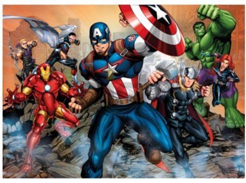 CLEMENTONI Puzzle Avengers: Zvítězíme MAXI 104 dílků