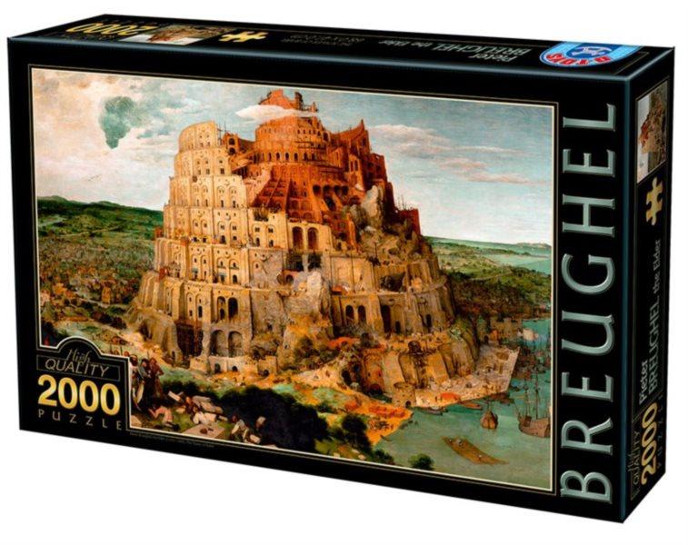 D-TOYS Puzzle Babylonská věž 2000 dílků