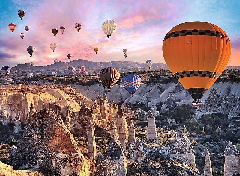 TREFL Puzzle Balony nad Kappadokií, Turecko 3000 dílků