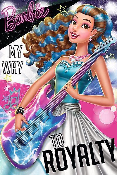 TREFL Puzzle Barbie: Rocková kapela B 54 dílků