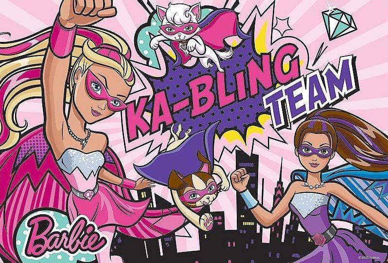 Puzzle pro děti TREFL 100 dílků - Barbie: Superhrdinky