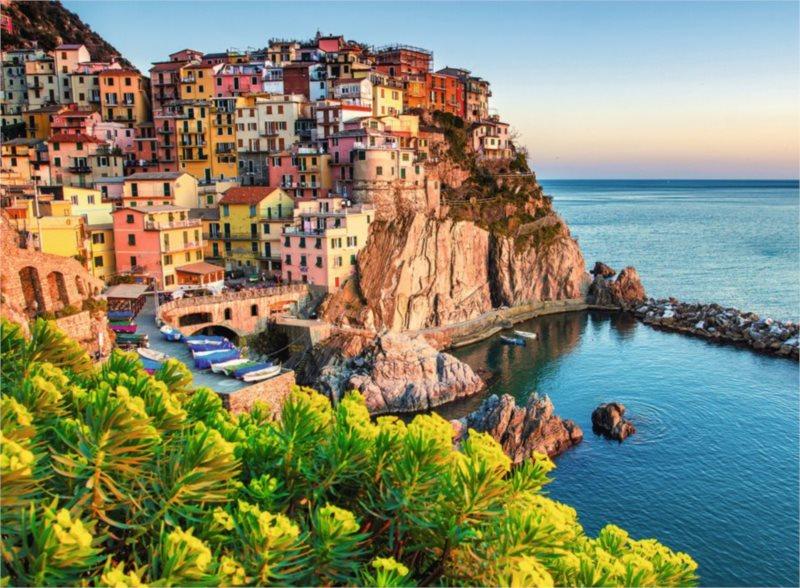 RAVENSBURGER Puzzle Barevná Itálie XXL 500 dílků