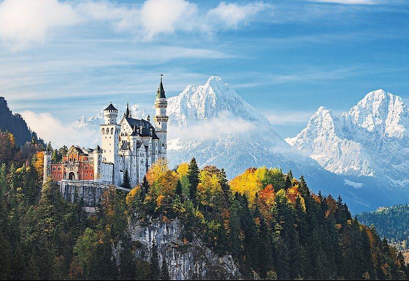 Puzzle TREFL 1500 dílků - Bavorské Alpy