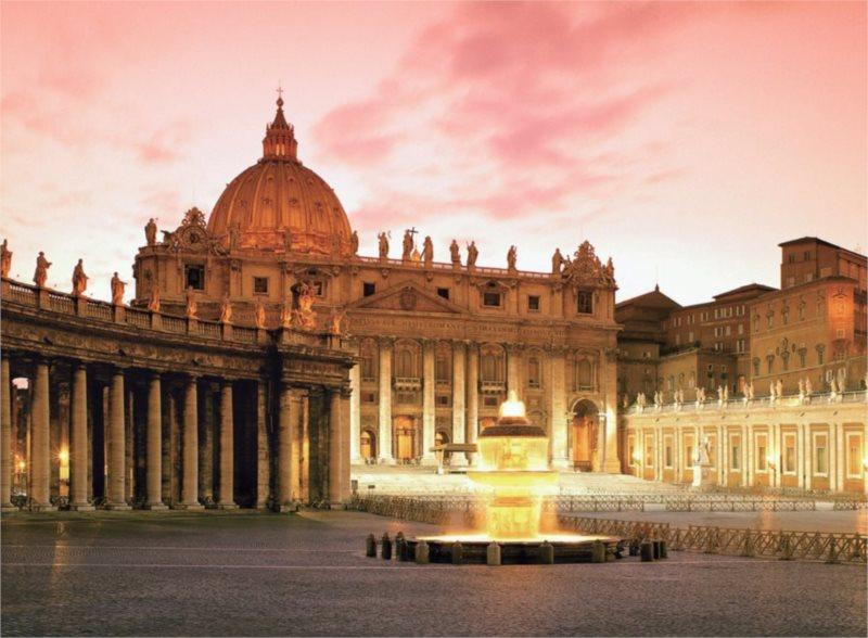 RAVENSBURGER Puzzle Bazilika svatého Petra, Řím XXL 300 dílků