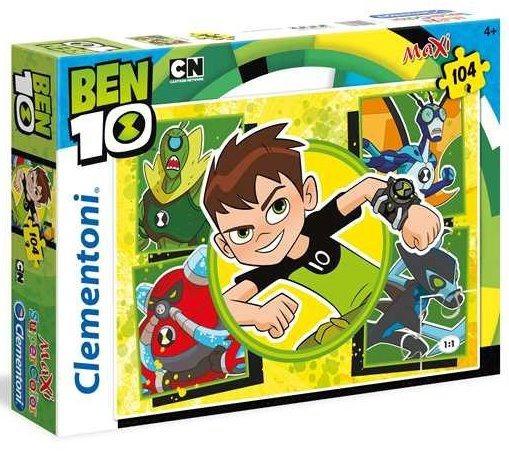 CLEMENTONI Puzzle Ben 10 MAXI 104 dílků