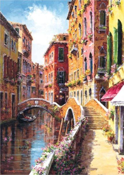 Puzzle SCHMIDT 1000 dílků S. Park: Benátky