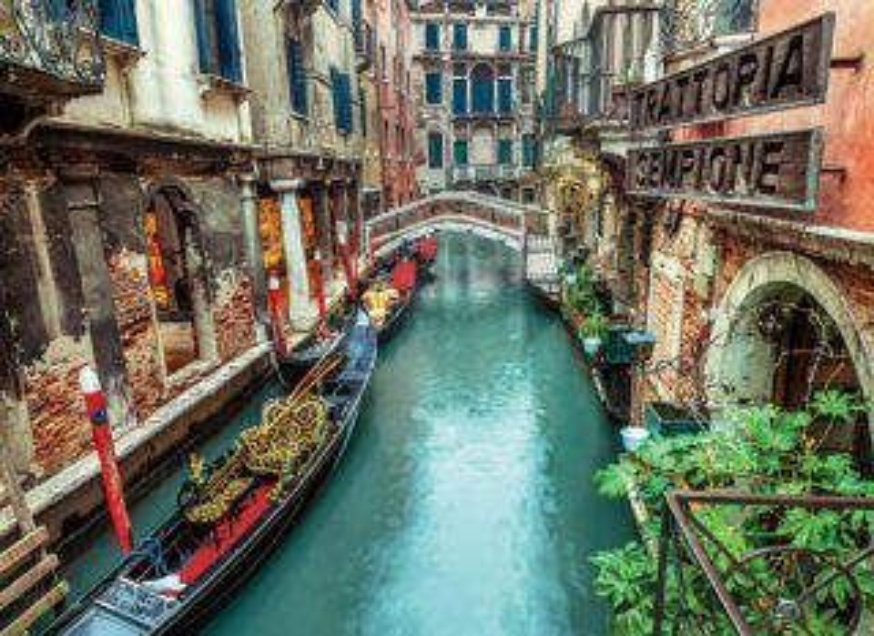 Puzzle CLEMENTONI 1000 dílků - Benátky