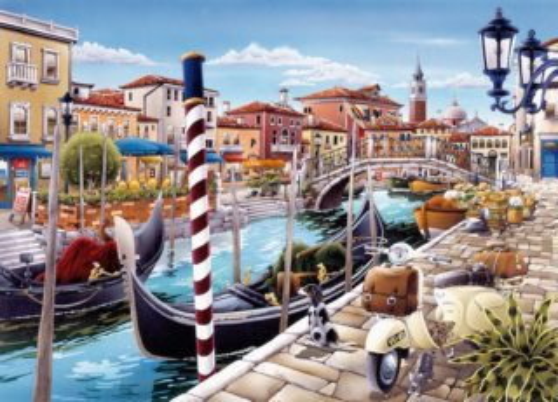 KING Puzzle Benátky, Itálie 1000 dílků