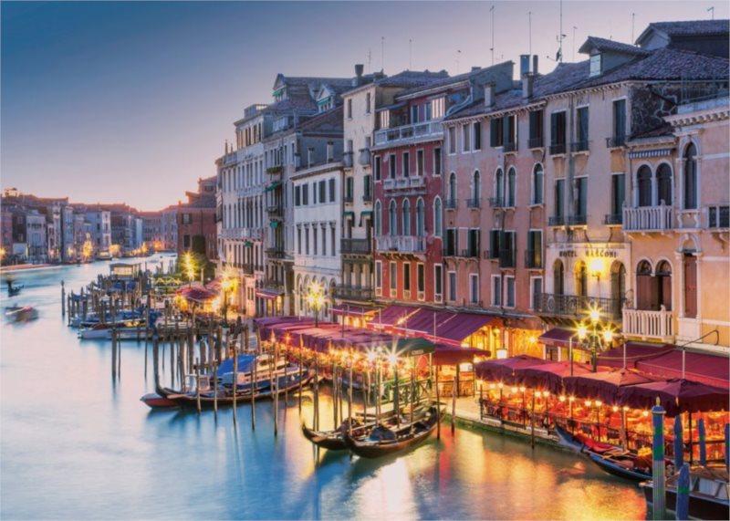 RAVENSBURGER Puzzle Benátky, Itálie 1000 dílků