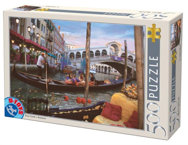 D-TOYS Puzzle Benátky, Itálie 500 dílků